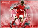 A4 Steven Gerrard Liverpool FC Edible Icing or Wafer Cake Topper